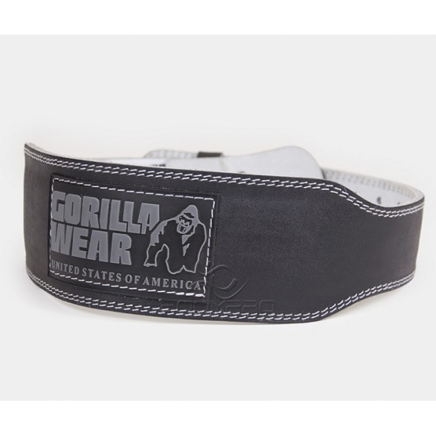 Gorilla Wear Пояс Gorilla Wear 4 Inch Padded Leather Belt