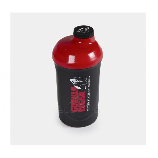 Gorilla Wear Шейкер Protein Shaker Black/Red 700ml