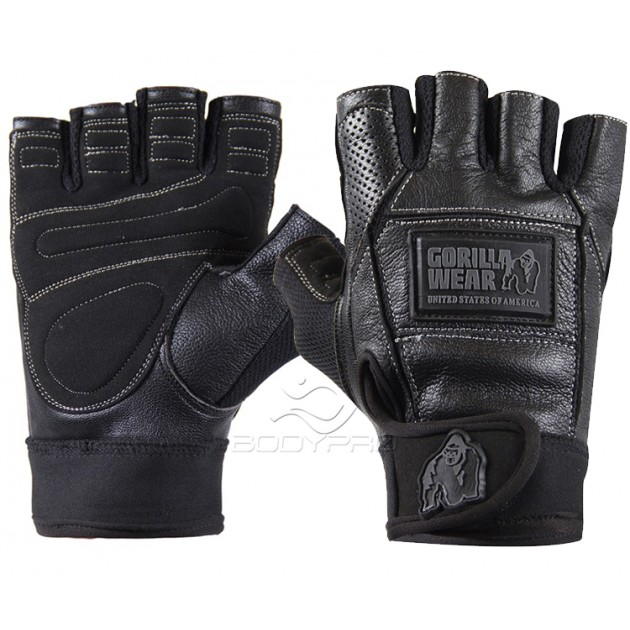 Gorilla Wear Перчатки Hardcore Gloves Black