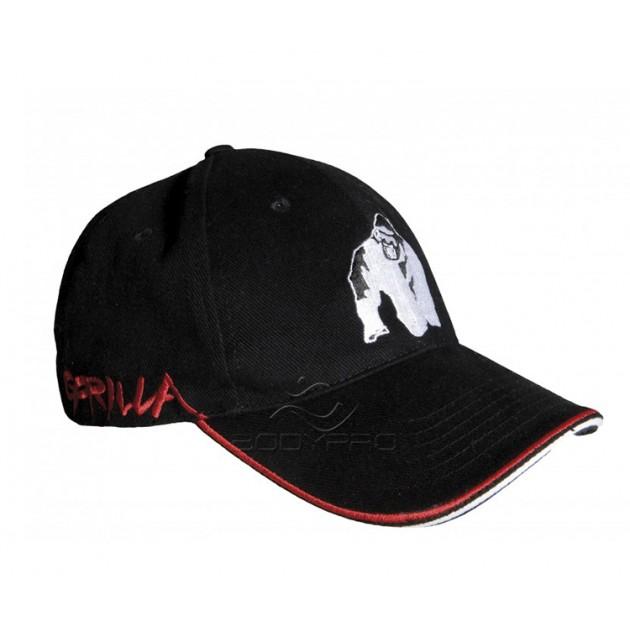 Gorilla Wear Кепка Core Cap Black/Red