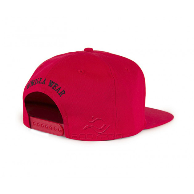 Gorilla Wear Кепка Dothan Cap Red