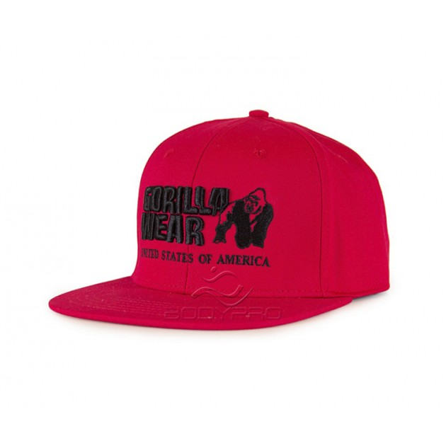 Gorilla Wear Кепка Dothan Cap Red