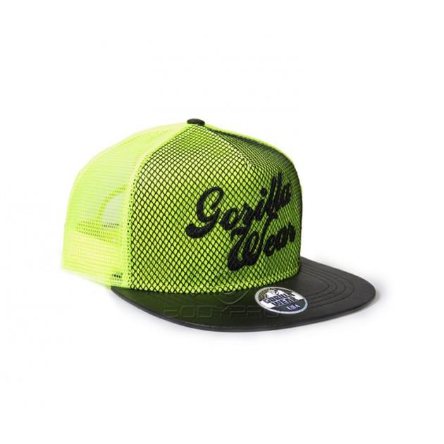 Gorilla Wear Кепка Mesh Cap Neon Lime