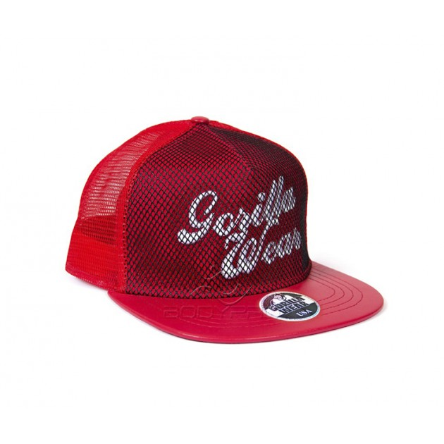 Gorilla Wear Кепка Mesh Cap Red