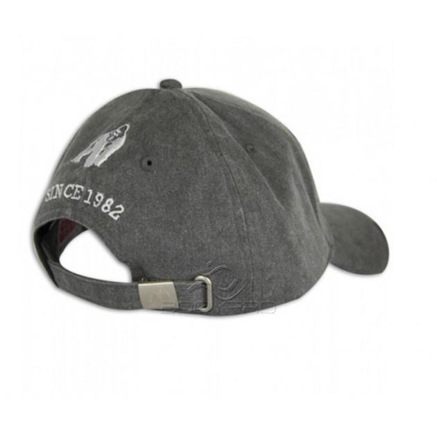 Gorilla Wear Кепка GW Washed Cap Gray