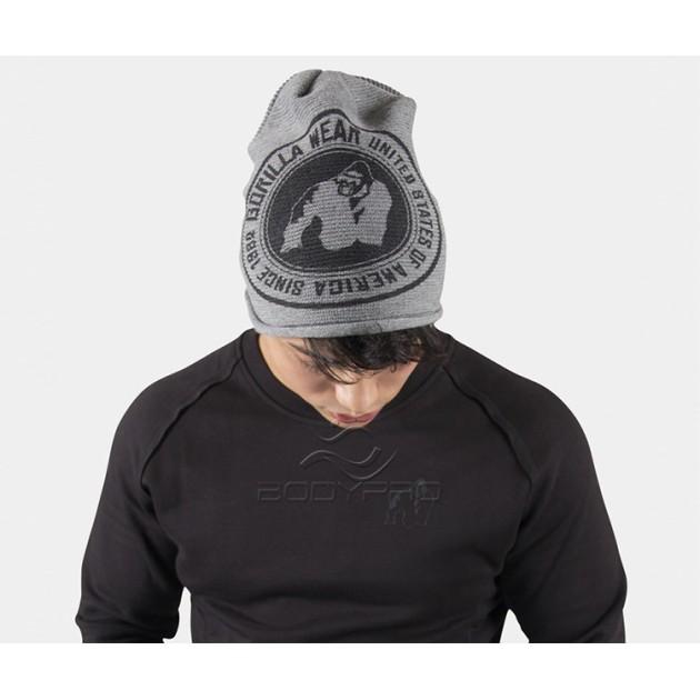 Gorilla Wear Шапка Oxford Beanie Gray