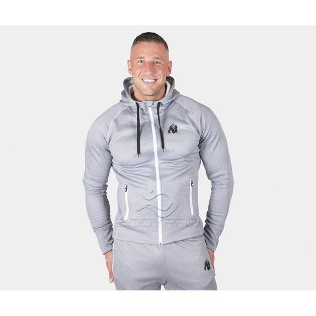 Gorilla Wear Толстовка Bridgeport Zipped Hoodie Silverblue