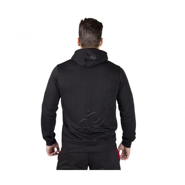 Gorilla Wear Толстовка Classic Zipped Hoodie Black