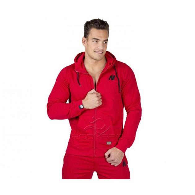 Gorilla Wear Толстовка Classic Zipped Hoodie Red