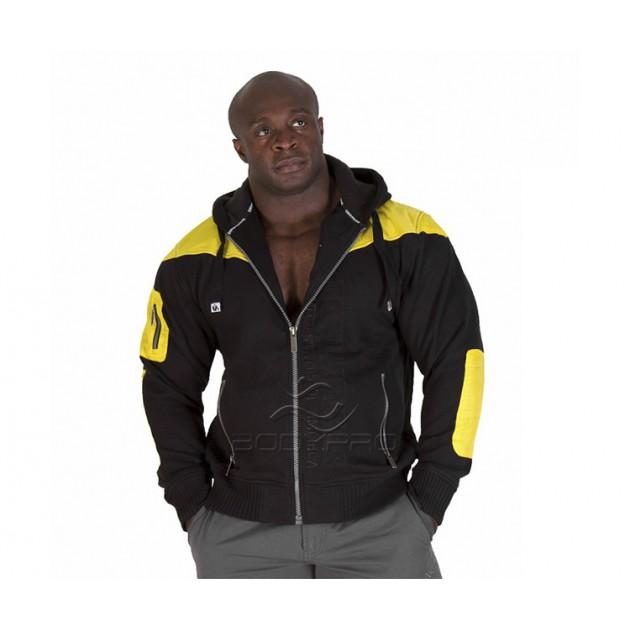 Gorilla Wear Куртка Disturbed Jacket Black/Yellow