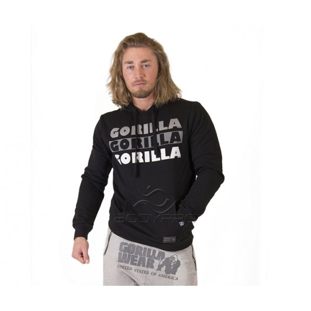 Gorilla Wear Толстовка Ohio Hoodie Black