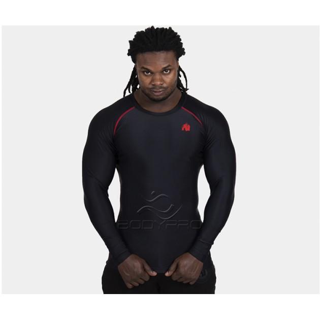 Gorilla Wear Hayden Compression Longsleeve Black/Red