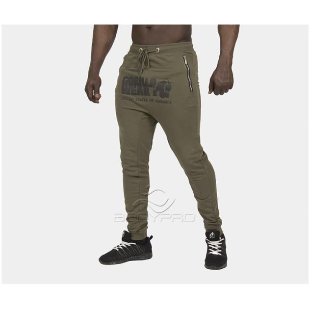 Gorilla Wear Штаны Alabama Drop Crotch Joggers Army Green