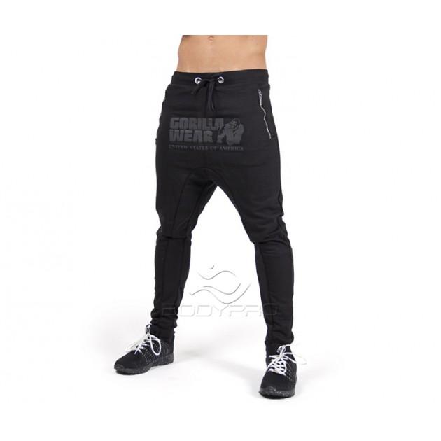 Gorilla Wear Штаны Alabama Drop Crotch Joggers Black