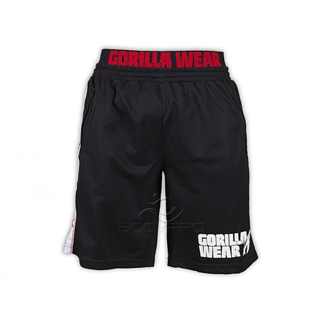 Gorilla Wear Шорты California Mesh Shorts Black/Red