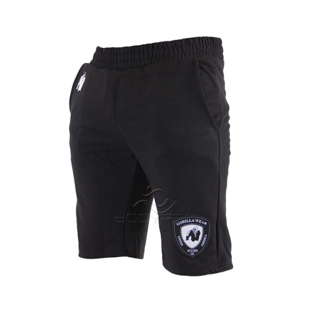 Gorilla Wear Шорты Los Angeles Sweat Shorts Black