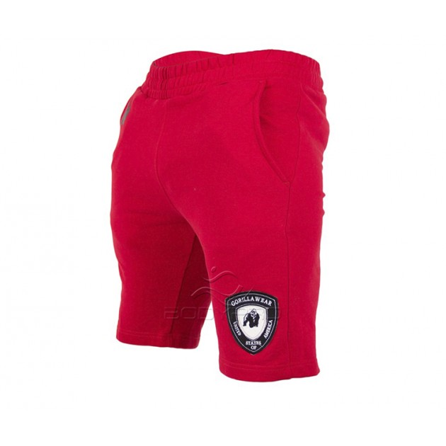 Gorilla Wear Шорты Los Angeles Sweat Shorts Red