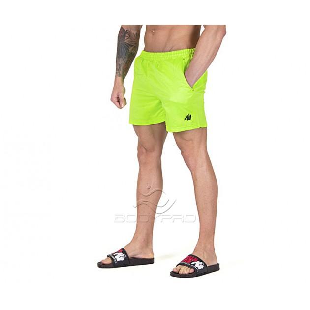 Gorilla Wear Шорты Miami Shorts Neon Lime