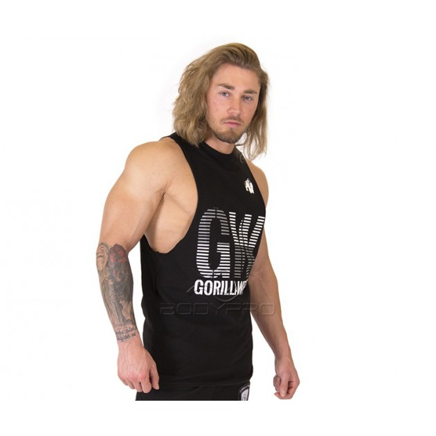 Gorilla Wear Футболка Dakota Sleeveless T-Shirt Black