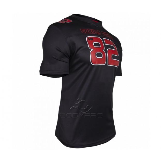 Gorilla Wear Футболка Fresno T-shirt Black/Red