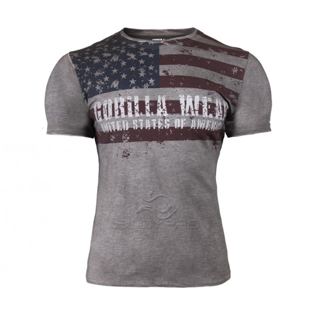 Gorilla Wear Футболка Gorilla Wear USA Flag Tee