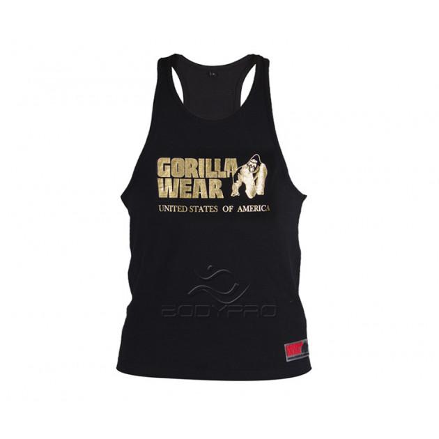 GorillaWear Майка Classic Tank Top Gold