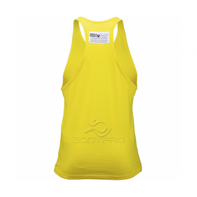 GorillaWear Майка Classic Tank Top Yellow