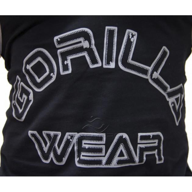 GorillaWear Майка Logo Stringer Tank Top Black