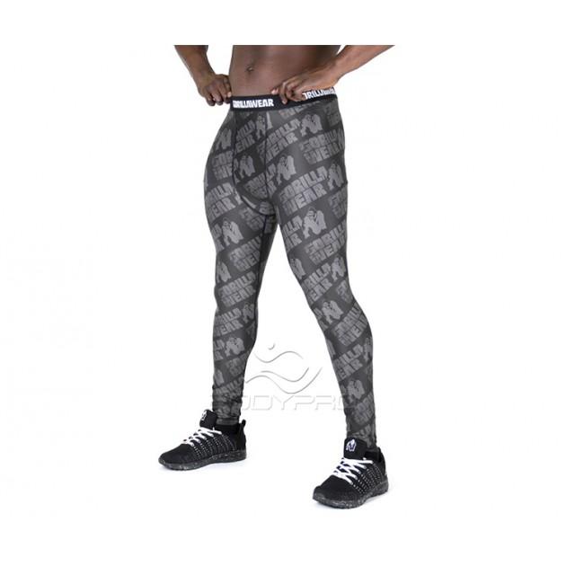 GorillaWear Тайсты San Jose Men's Tights Black/Gray