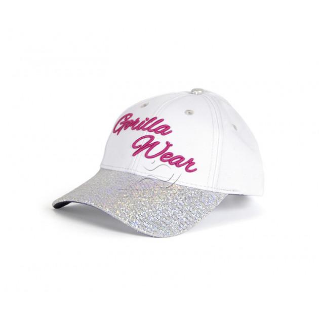 GorillaWear Louisiana Glitter Cap White/Pink