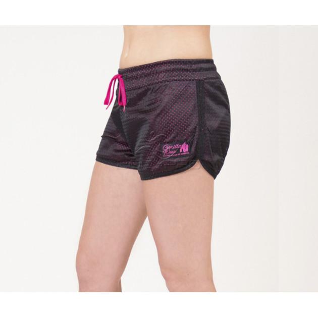 Gorilla Wear Шорты Madison Reversible Shorts Black/ Pink