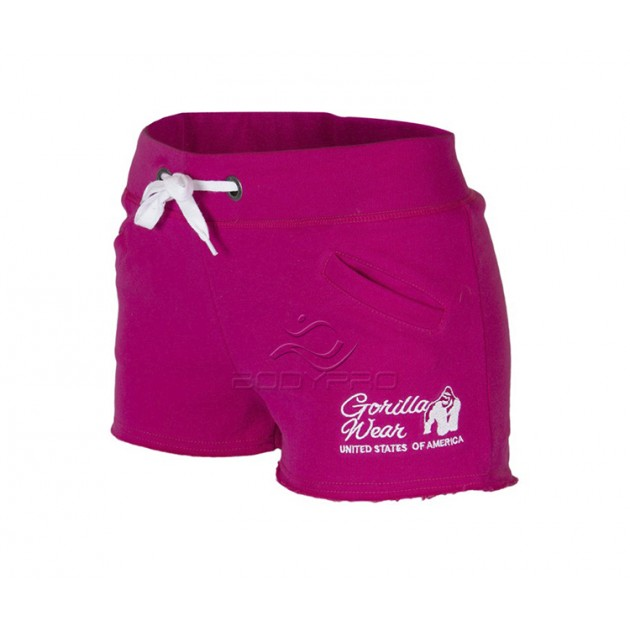 Gorilla Wear Шорты Women's New Jersey Sweat Shorts Pink