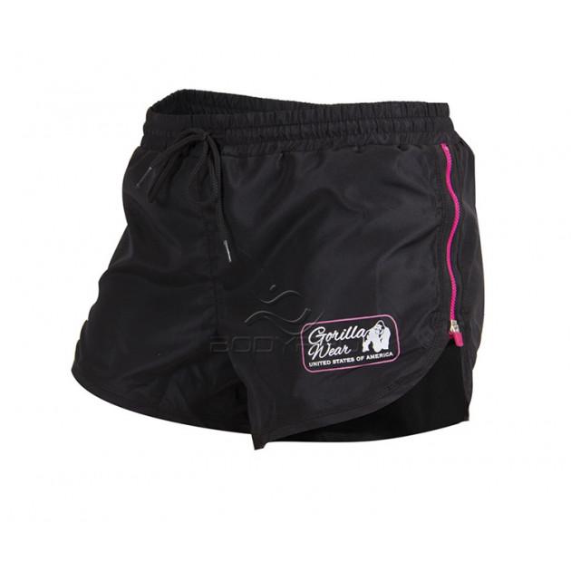 Gorilla Wear Шорты Women's New Mexico Cardio Shorts Black/Pink