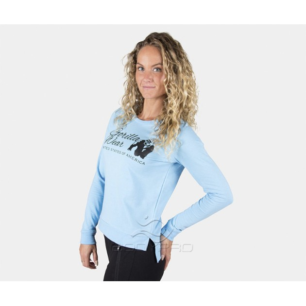 GorillaWear Свитшот Riviera Sweatshirt Light Blue