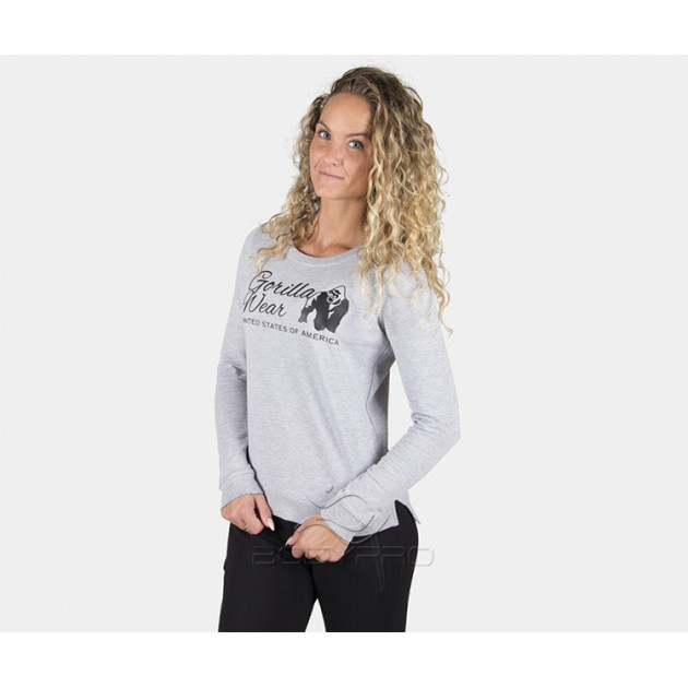 GorillaWear Свитшот Riviera Sweatshirt grey