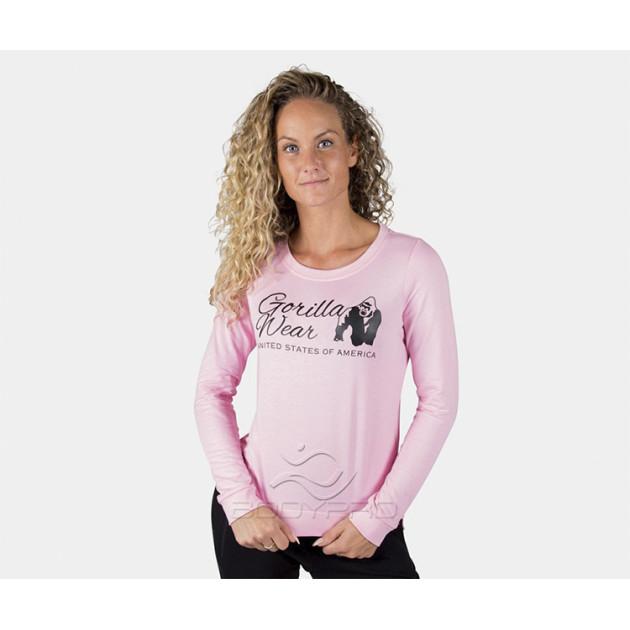 GorillaWear Свитшот Riviera Sweatshirt Light Pink