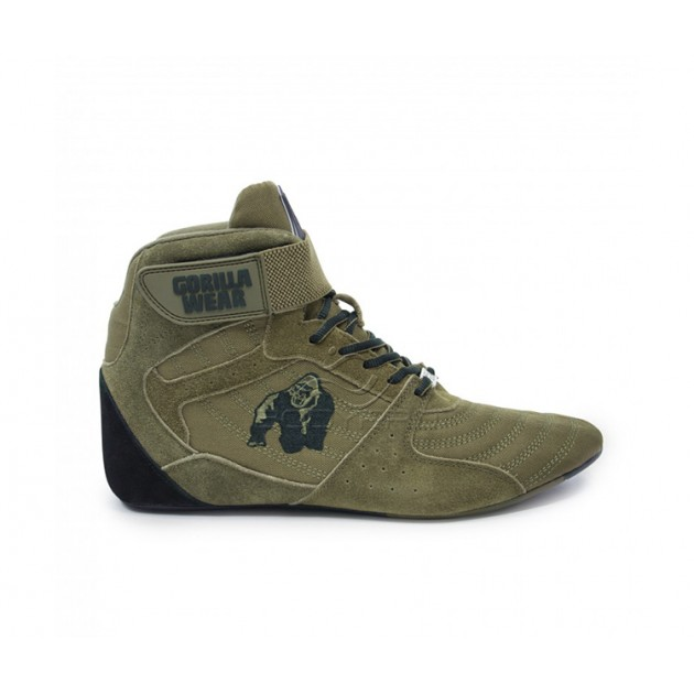 Gorilla Wear Обувь Perry High Tops Pro Army Green