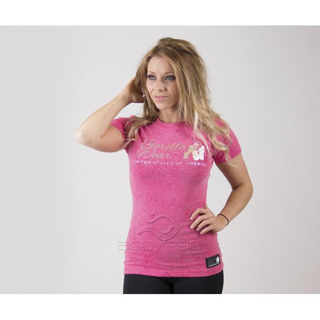 GorillaWear Футболка  Camden T-shirt Pink