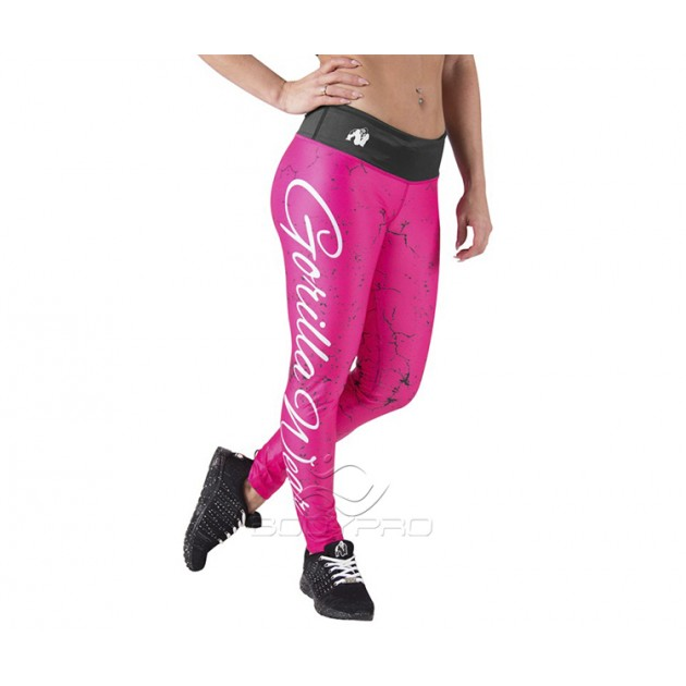 GorillaWear Легинсы Houston Tights Pink