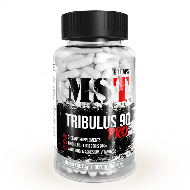Тестобустер MST Nutrition Tribulus Pro 90% with Zink 90 капс