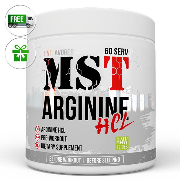 Аминокислота MST Nutrition Arginine HCL 300 г