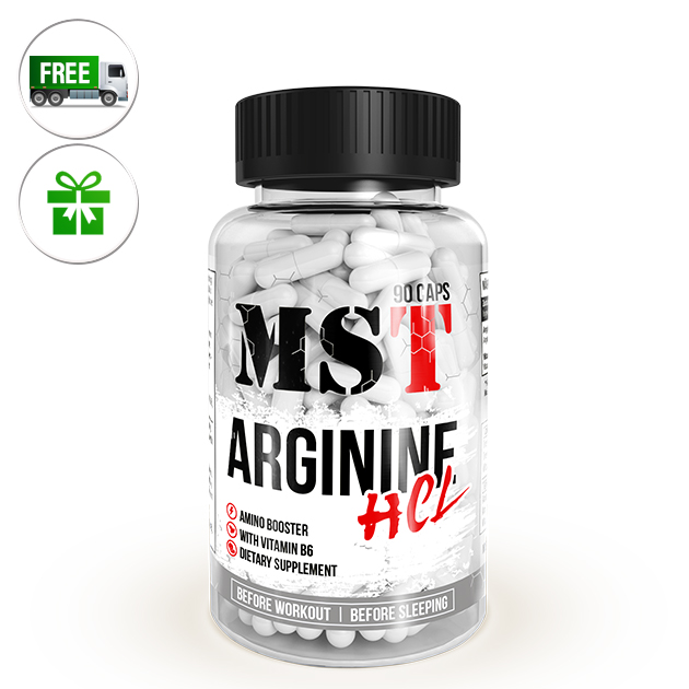 Аминокислота MST Nutrition Arginine HCL 90 капс