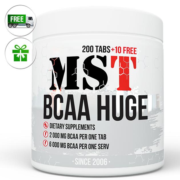 Аминокислоты MST Nutrition BCAA Huge 210 табл