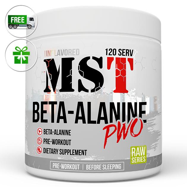 Предтренировочный комплекс MST Nutrition Beta-Alanine 300 г