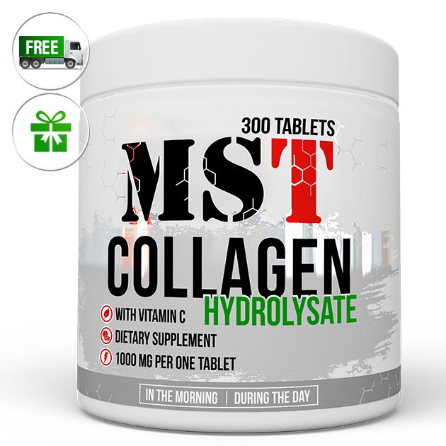 Специальный продукт MST Nutrition Collagen Hydrolysate 300 табл