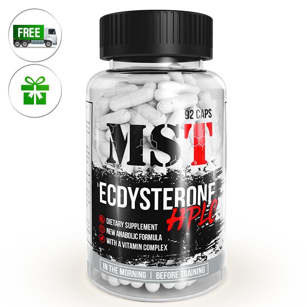 Специальный продукт MST Nutrition Ecdysterone HPLC 92 капс