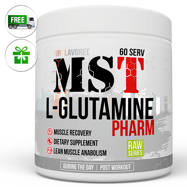 Аминокислота MST Nutrition Glutamine Pharm 300 г