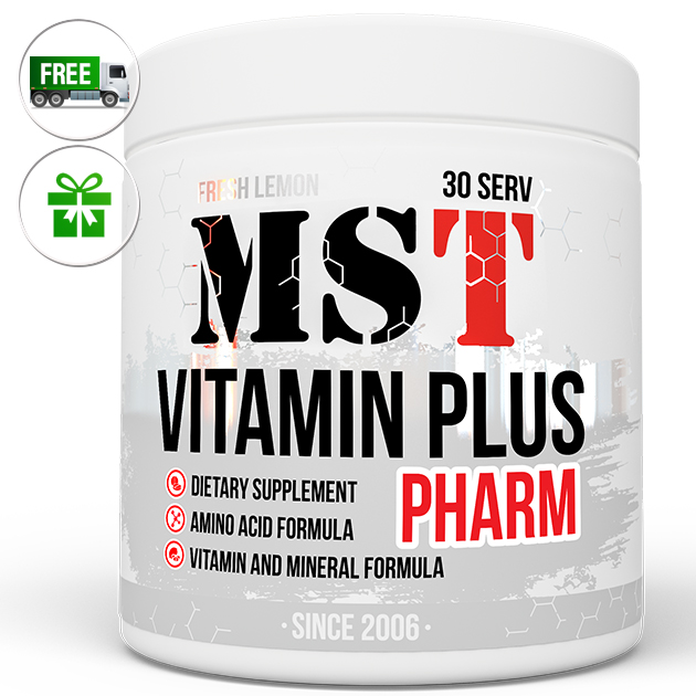 Витамины MST Nutrition Vitamin Plus 210 г Лимон