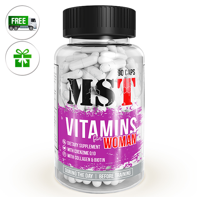 Витамины MST Nutrition Vitamins for Women 90 капс