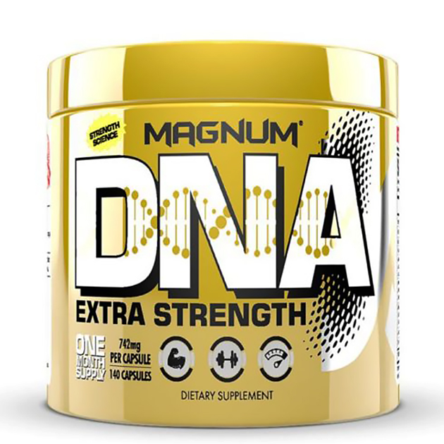 Аминокислоты Magnum Nutraceuticals BCAA DNA 140 капс